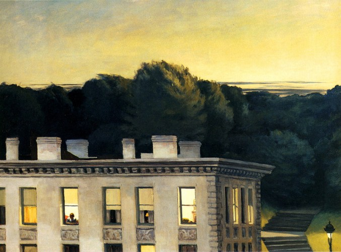 Hopper_ House at Dusk